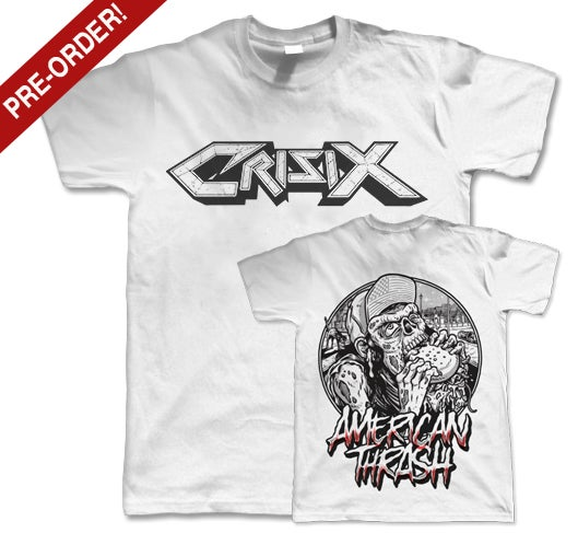 Image of PRE-ORDER 'American Thrash' White Tee