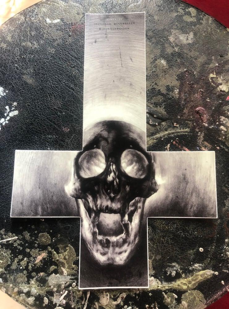 Image of 'SYMPATHY' - Ultra Premium Fine Art Sticker