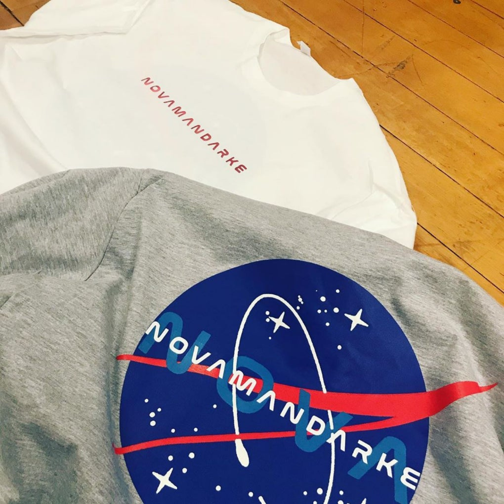 Image of Nova Mandarke Out of This World Tee Grey