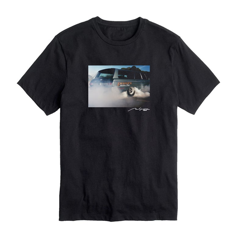 "Image of Shane's ""Burnout"" Tee (Black)"