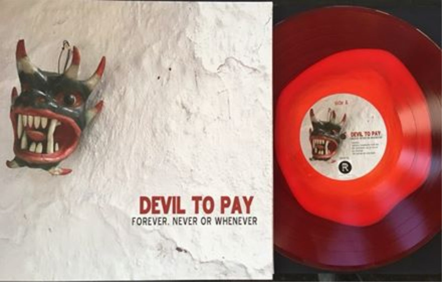 Image of Devil to Pay - Forever, Never or Whenever Vinyl LP