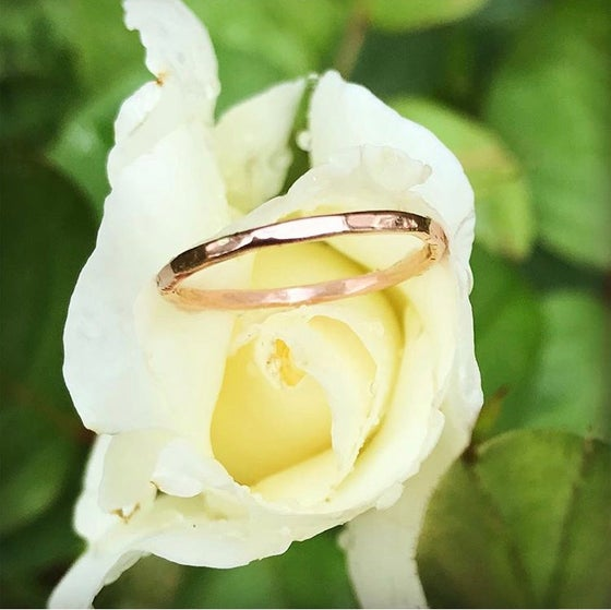 Image of Custom yellow sapphire ring