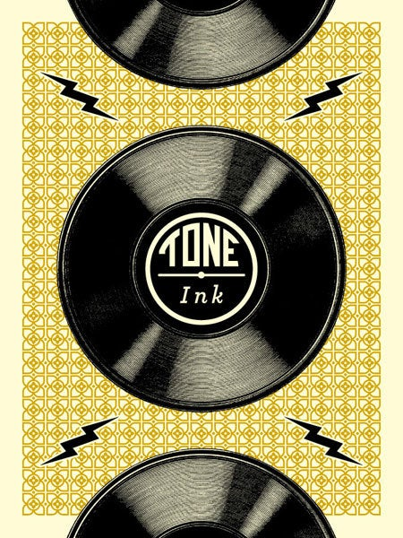 Image of Tone Ink Records (Gold)