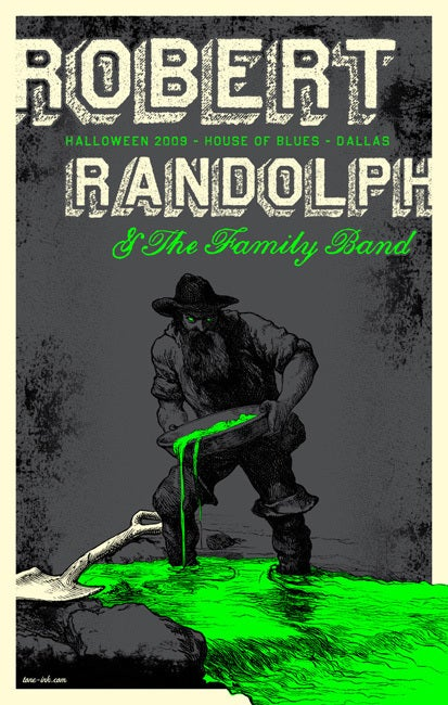 Image of Robert Randolph & The Family Band - Halloween '09