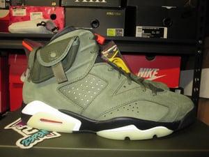 """Image of Air Jordan VI (6) Retro SP x Travis Scott """"Medium Olive"""""""