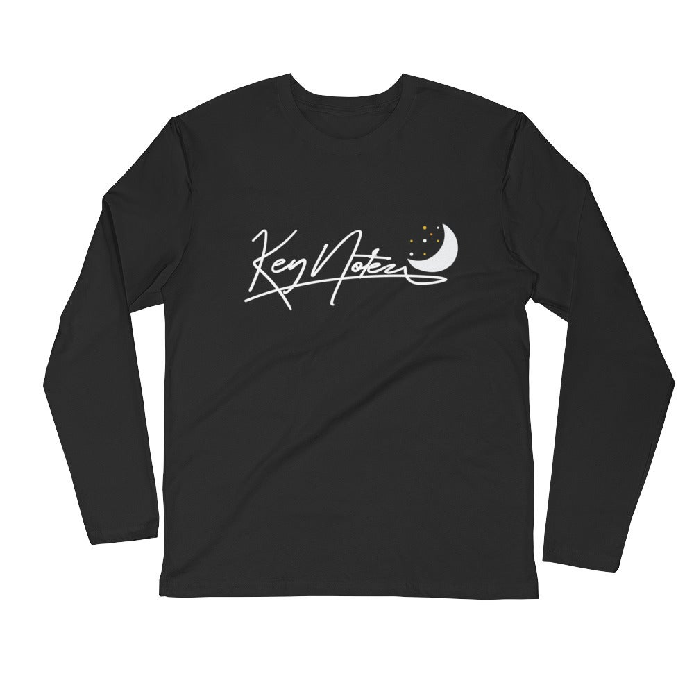 Image of Key Fitted Long Sleeve Shirt