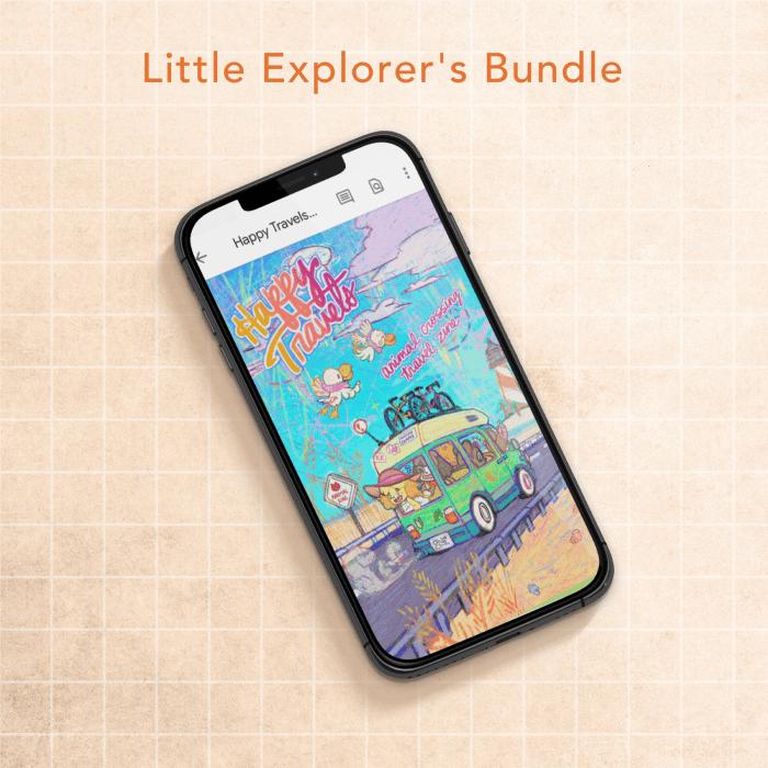 Image of Little Explorer's Bundle - PDF only
