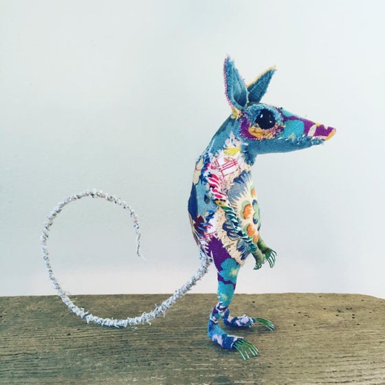 Image of Textile Mouse Sculpture - 1 day workshop - The Studio, Hampshire - Sunday 24th November 2019