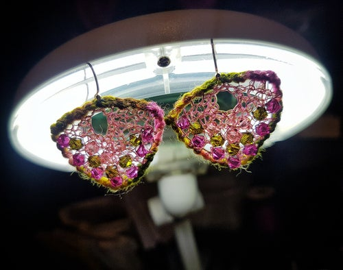 Image of MOTH EARRINGS