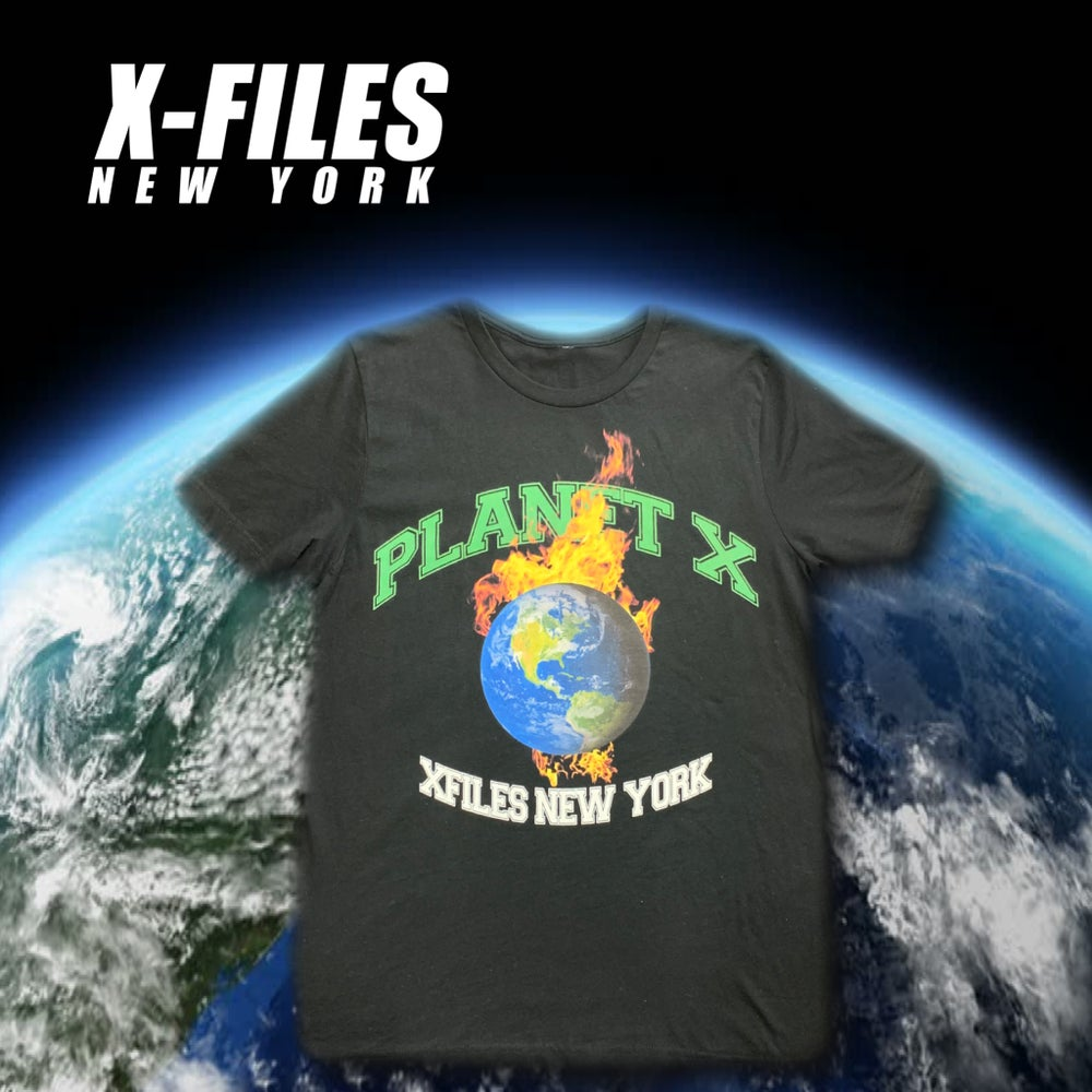 Image of XNY PLANET X TEE (Black)
