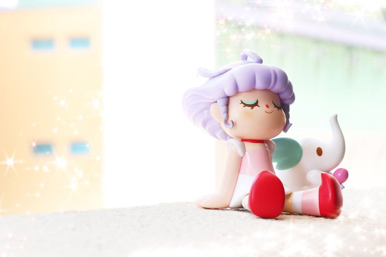 Image of Greenie and Elfie x Unbox - Creamy Mami Ver.