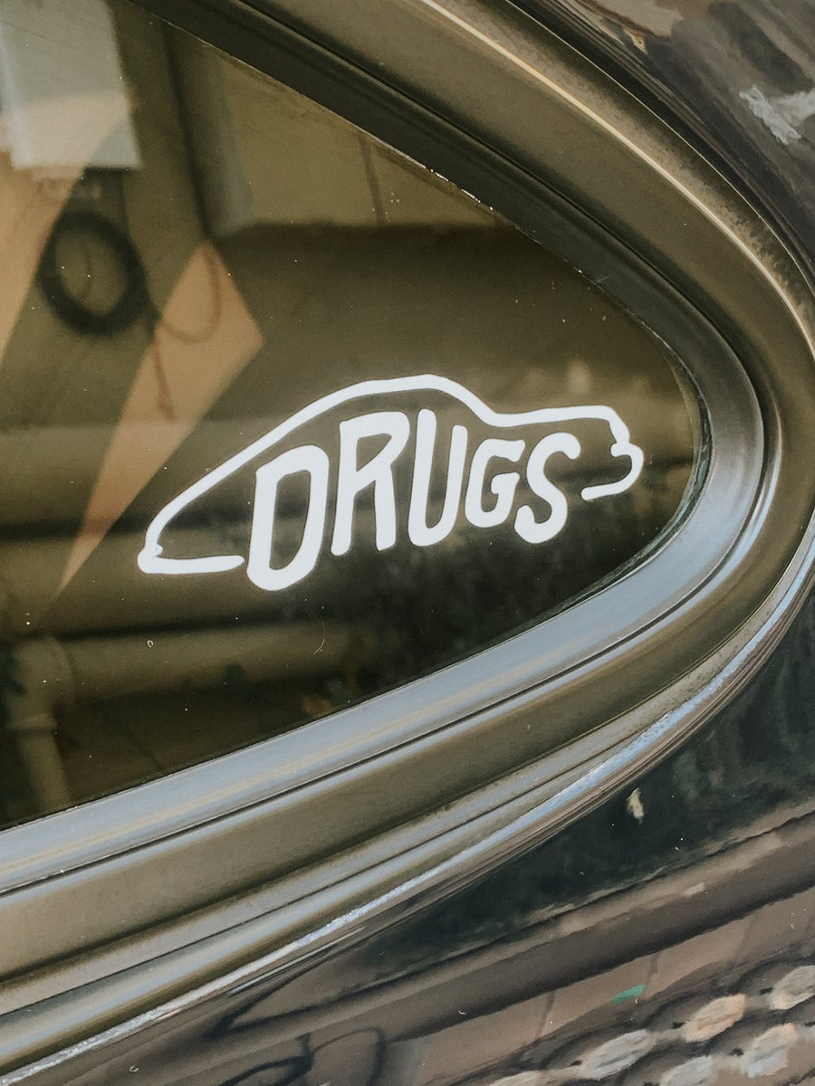 Image of Drugs Transfer Decal