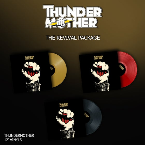 Image of Thundermother - Thundermother ( Revival Vinyl Package )