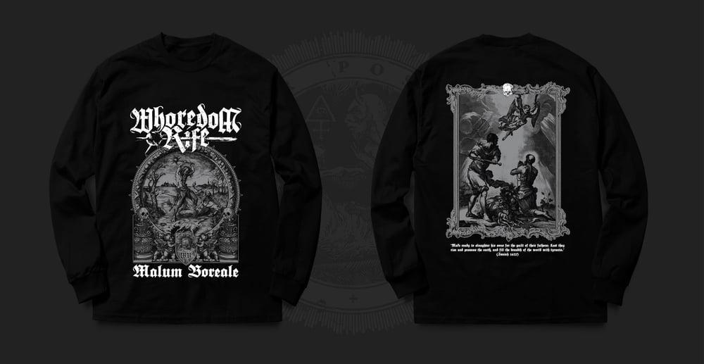 Image of WHOREDOM RIFE - black sweatshirt