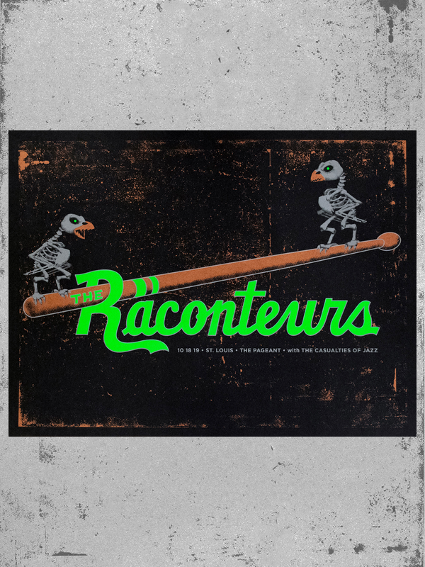 Image of The Raconteurs, St. Louis