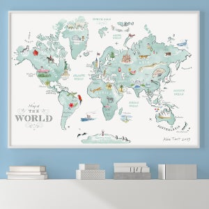 Print Ranges - Alice Tait Shop on map of the entire world, big map print world in, map of the whole world, detail map of whole world, map of pre-k posters of the world, printable map of whole world, binder paper size printable map of the world, big print united states map,