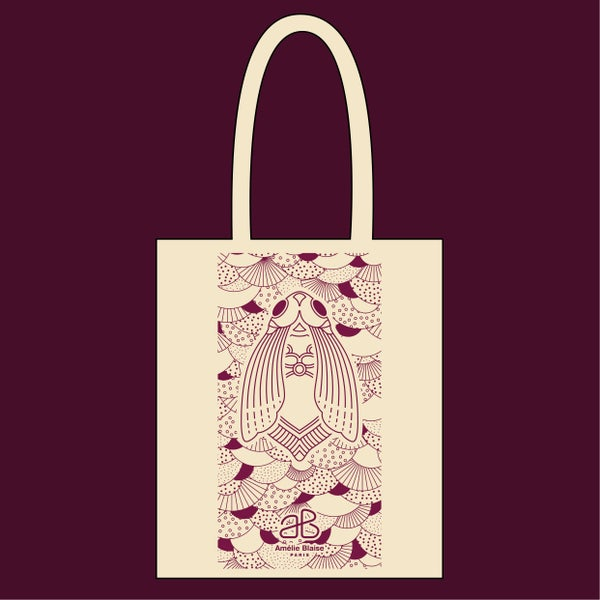 Image of TOTE BAG sérigraphié