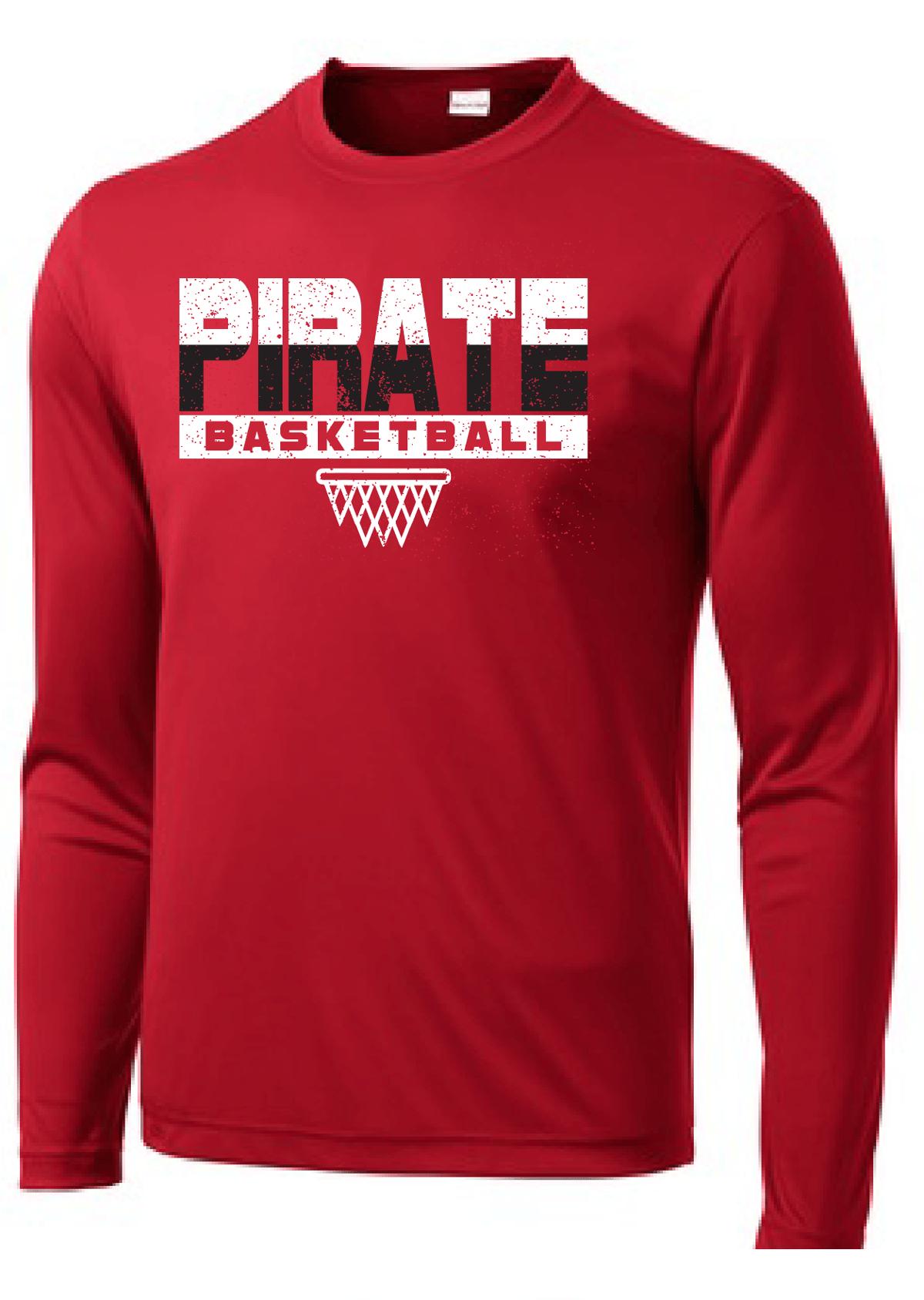Image of Pirate Basketball - Poly Long