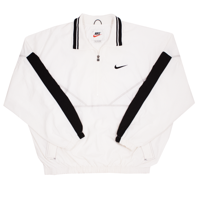 Image of Vintage Nike Track Jacket Big Swoosh Size L