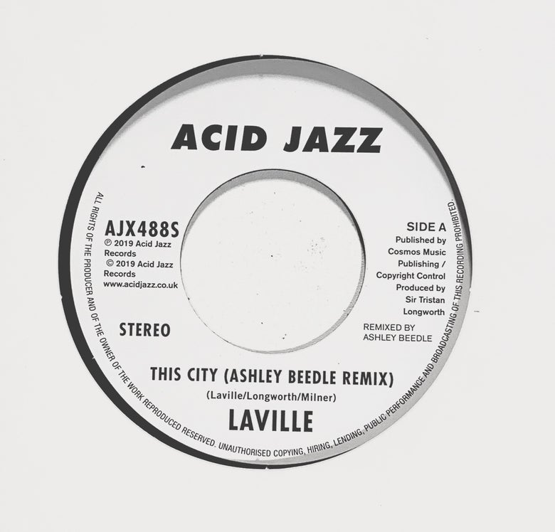 Image of Laville 'This City (Ashley Beedle Remix)/ Thirty One'