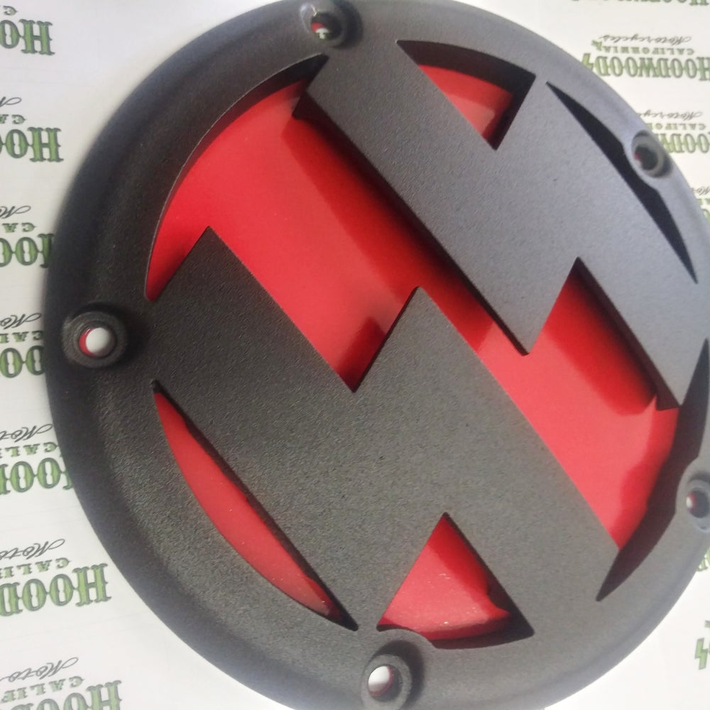 Image of 3D twincam Bolts derby cover
