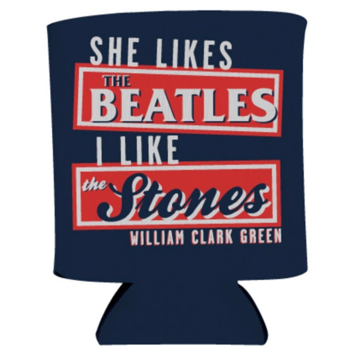 Image of Navy Beatles Koozie