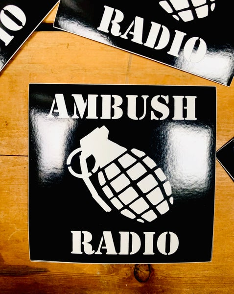 Image of Ambush Radio Decal