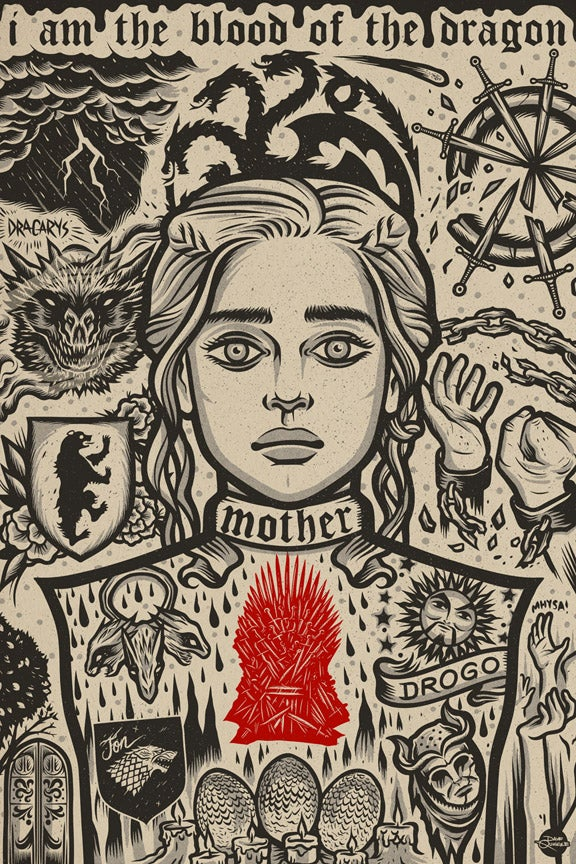 Image of Dany - Print - Red Heart Variant AP