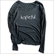 Image of The HOPEFUL long sleeve shirt