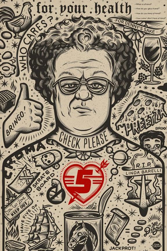 Image of Steve - Print - Red Heart Variant AP