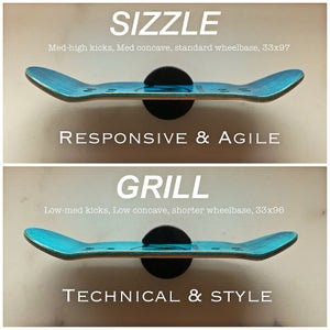 Image of 'Splat' (clear) - Sizzle