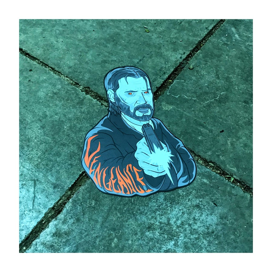 Image of Vengeance Wick sticker
