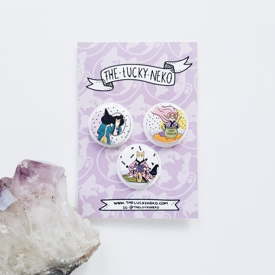 Image of Witchy Pin set