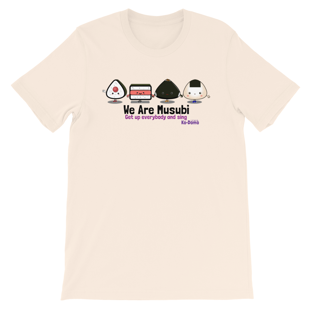 "Image of KODOMO ""WE Are Musubi"" T Shirt"