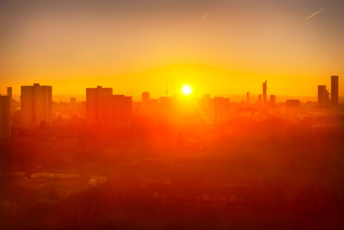 Image of SUNRISE, SALFORD & MANCHESTER