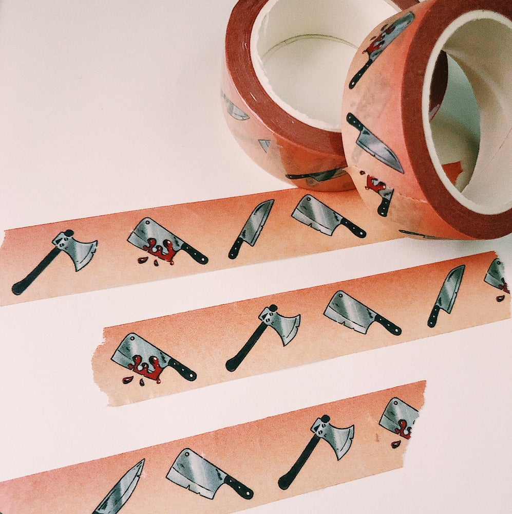Image of Knives Washi Tape
