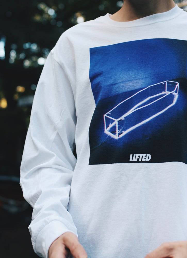 Image of Neon Purple Coffin Longsleeve
