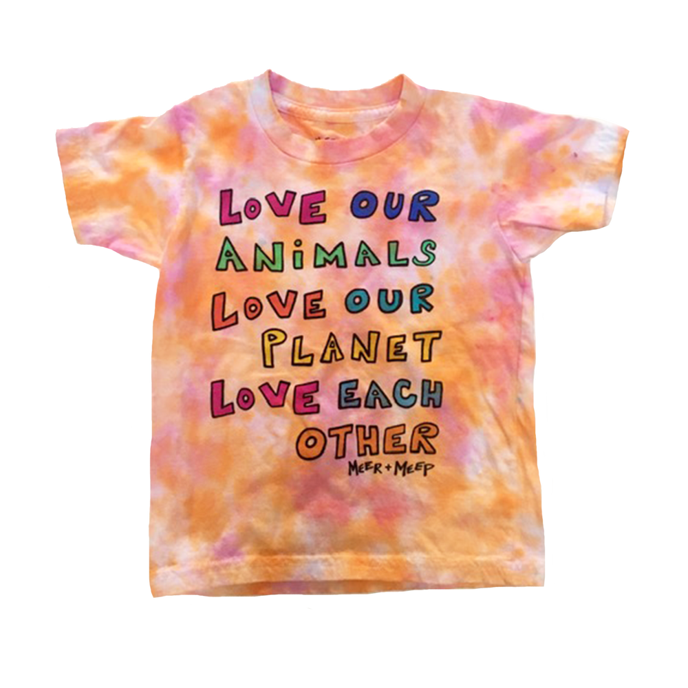 "Image of LOVE OUR WORLD - ""STARBURST"" (SIZE 4T)"