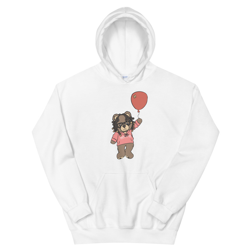 Image of Oakley the Bear Hoodie (White)