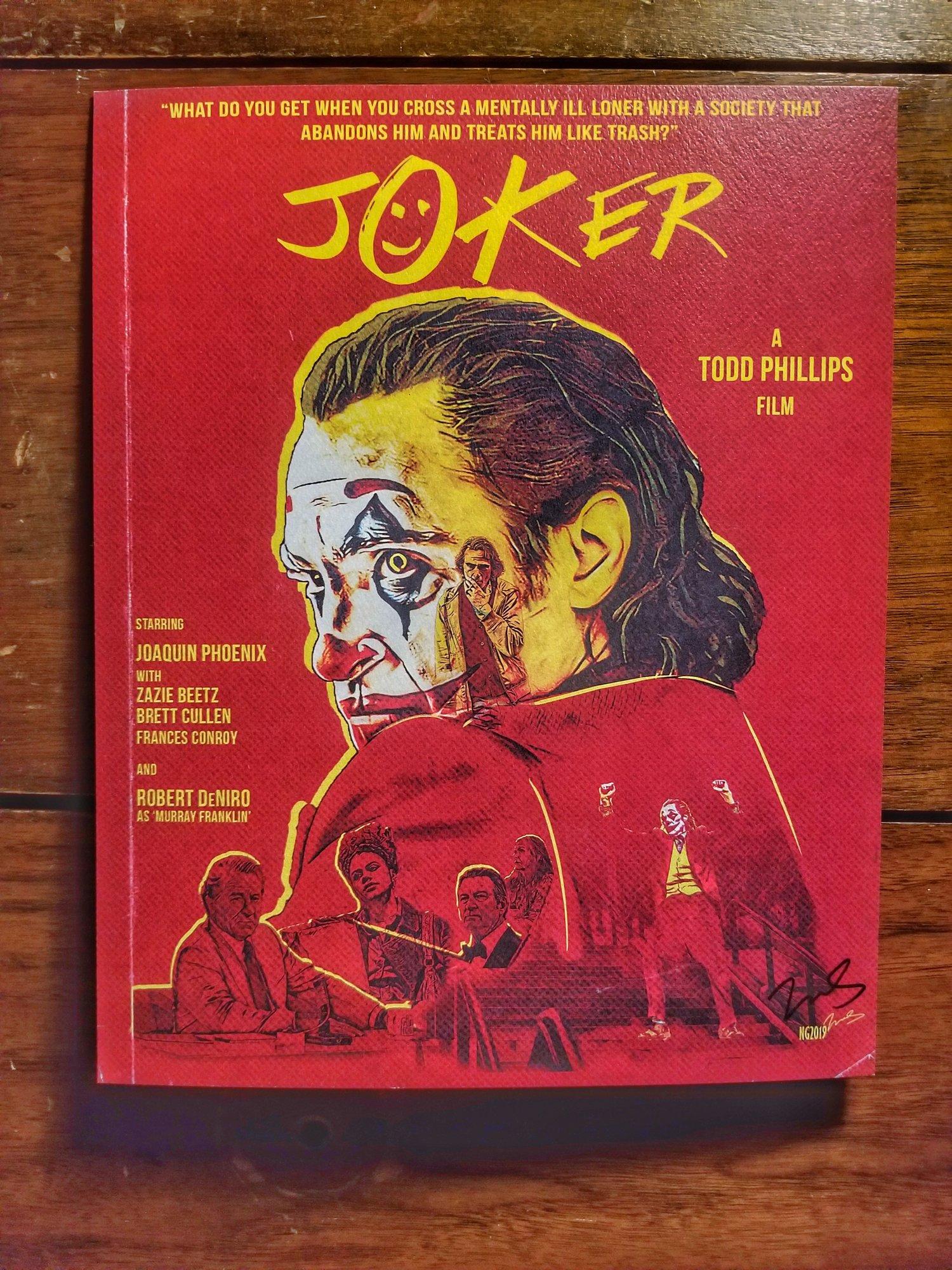 """JOKER 8x10"""" Textured Cardstock Print"""
