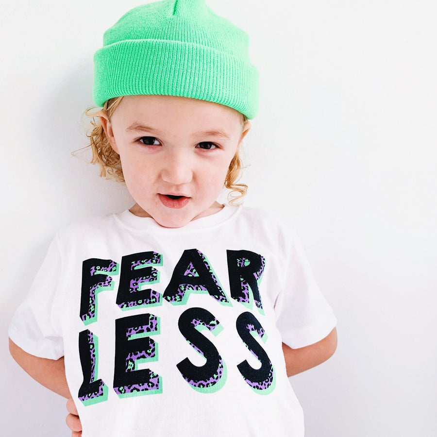 Image of FEARLESS ANIMAL TEE