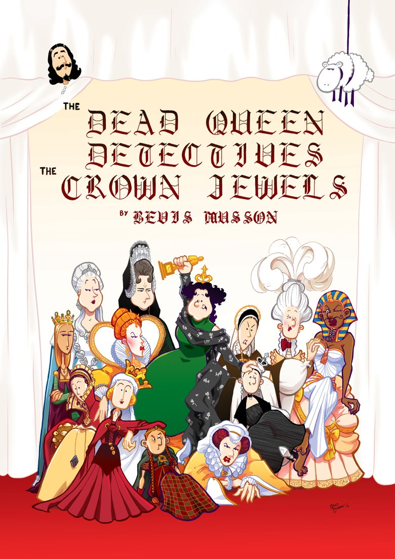 Image of The Dead Queen Detectives: The Crown Jewels