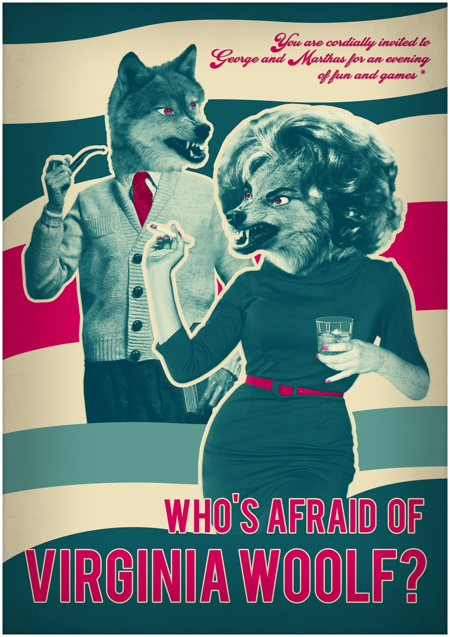 Image of Who's Afraid Poster Print A2