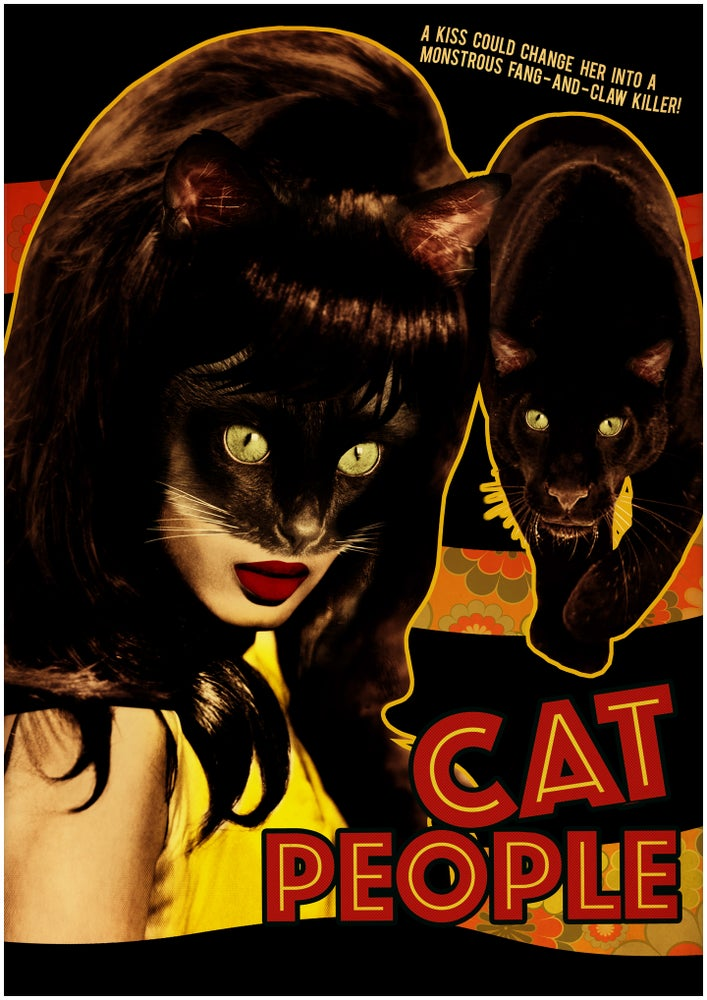 Image of Cat People Poster Print A2