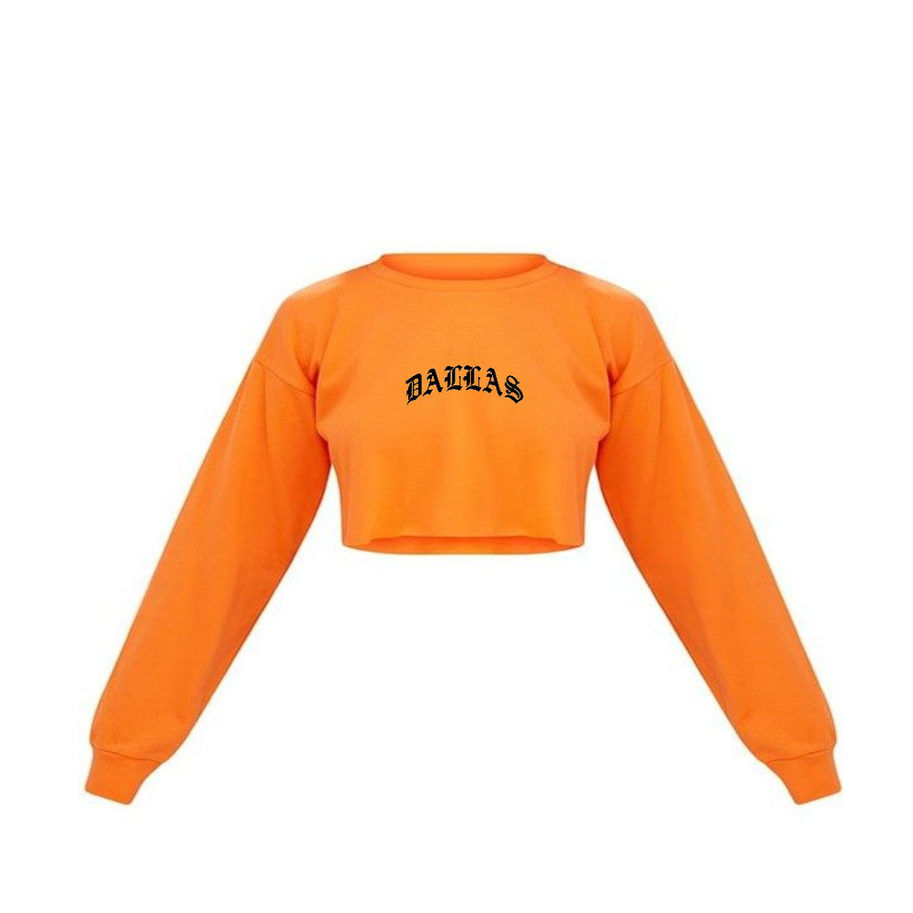 Image of DALLAS CROPPED SWEATER