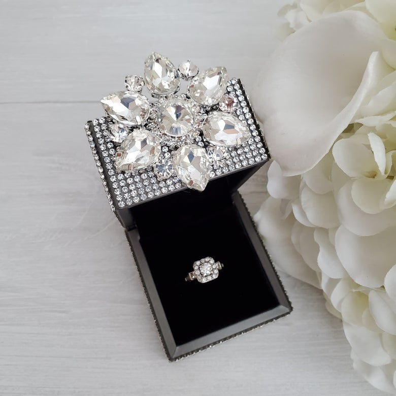 Image of 'Holli' Bling Ring Box