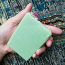 Image of Patchouli + Rose Hemp Seed Oil Soap