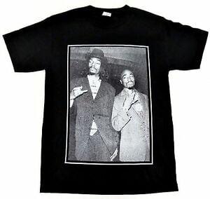 Image of Tupac X Snoop Dogg T Shirt