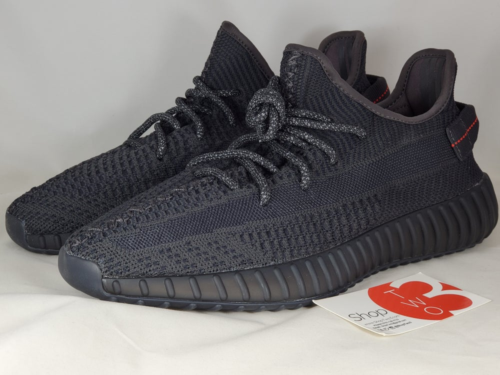 Image of Yeezy Boost 350 Black Non reflective