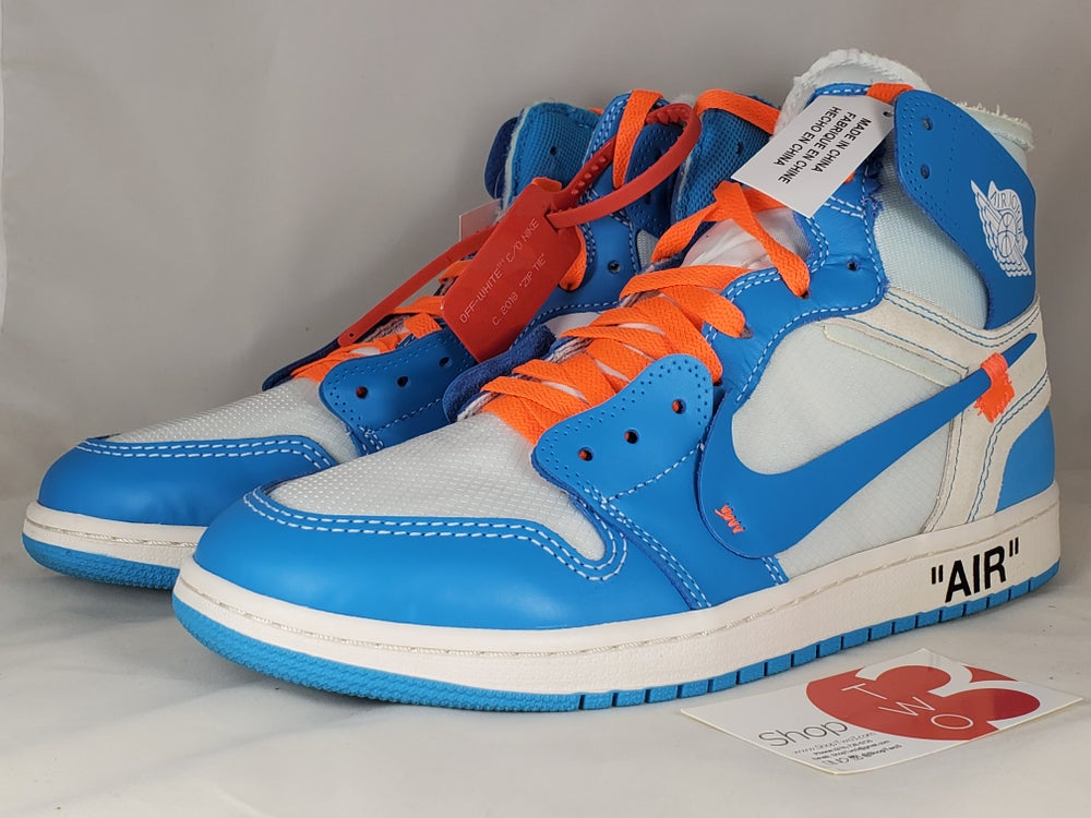 Image of Jordan 1 Off-White UNC
